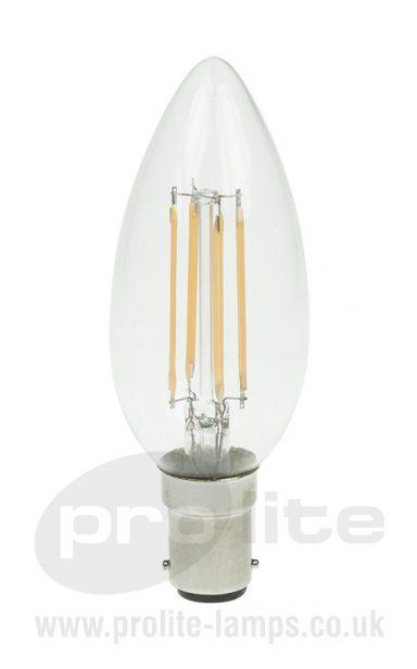3W LED Filament Candle