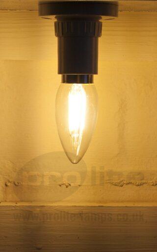 3W LED Filament Candle Lit