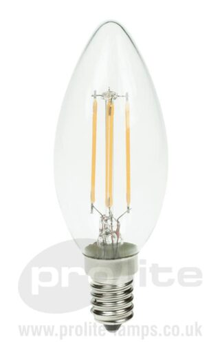 Prolite 3W LED Filament Candle