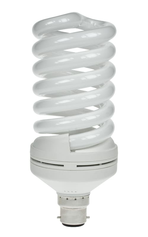 Day Time Light Bulbs: 30W & 55W Helix T3 2700K Warm White Spiral Energy Saving Lamps