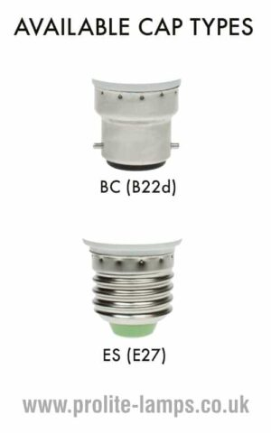 Available Cap Types - BC, ES