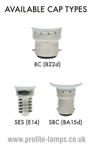 Available Cap Types - BC, SES, SBC
