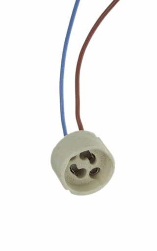 Ceramic GU10 lamp holder
