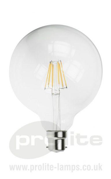 G125 6W LED Globe