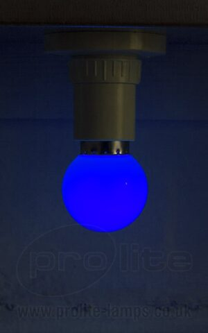 1W Blue Golf Ball LED