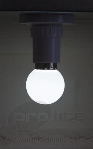 1W Cool White Golf Ball LED