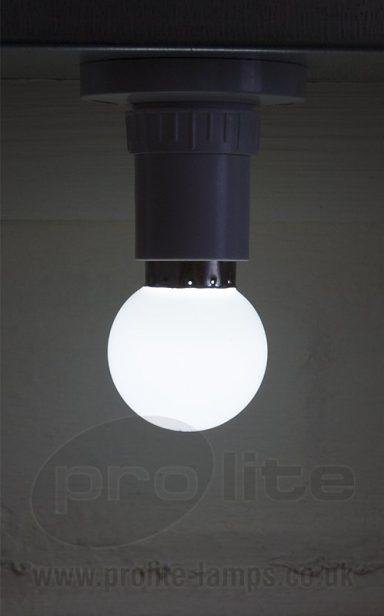 1W Cool White Golf Ball LED
