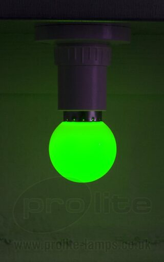 1W Green Golf Ball LED