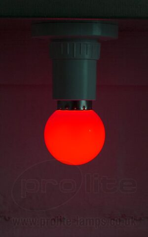 1W Red Golf Ball LED