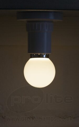 1W Warm White Golf Ball LED