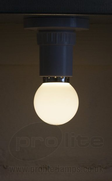 1W Warm White Golf Ball LED