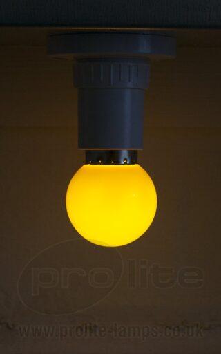 1W Yellow Golf Ball LED
