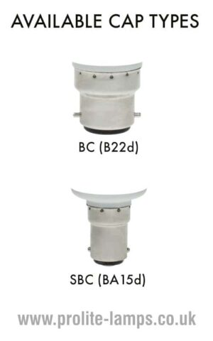 Available Cap Types - BC, SBC