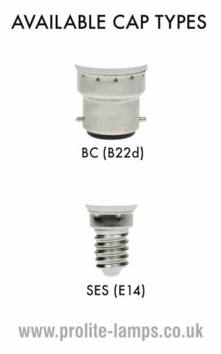 Available Cap Types - BC, SES