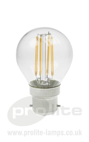 Golf Ball 3W LED Filament Lamp
