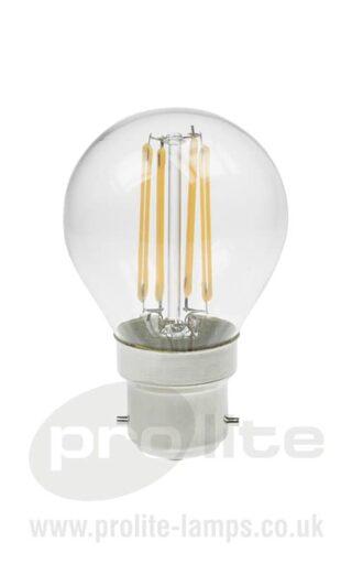 Golf Ball 3W LED Filament Lamp