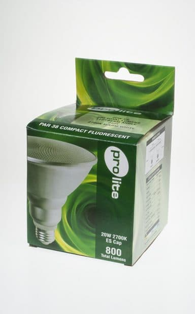 PAR 38 CFL Box