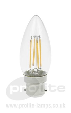 3W BC Dimmable Candle