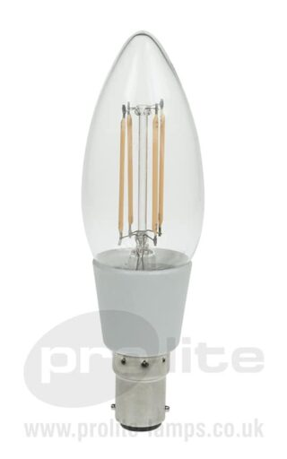 3W SBC Dimmable Candle