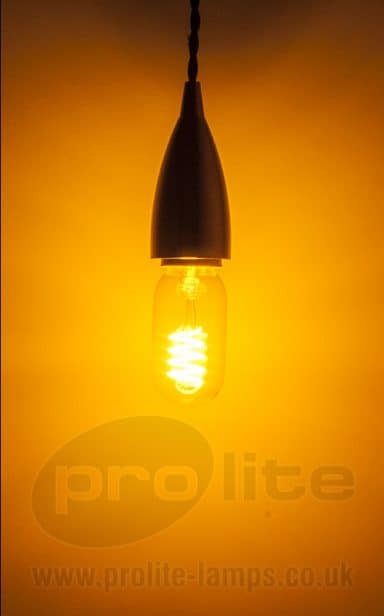 T45 Funky Filament Yellow Lit