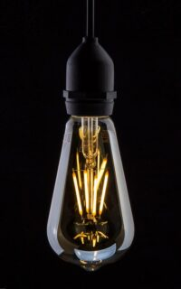 Prolite - ST64 LED Filament Gold Tint 4W In use image