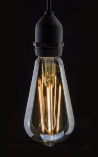 ST64 LED Gold Tint 4W Dimmable