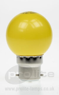 Prolite LED Golf Ball Yellow BC