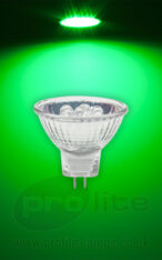 Prolite MR11 12V 1.5W Green