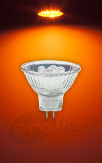 Prolite MR11 12V 1.5W Orange