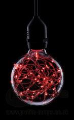 Prolite G95 Star Effect Globe Red