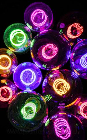 Prolite ST64 and T45 Colour Filament Lamps