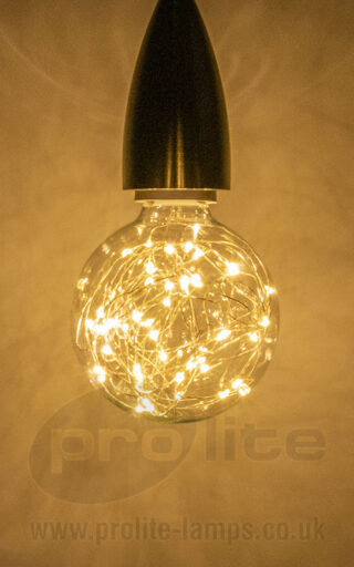 Prolite G95 Star Effect Globe Warm White