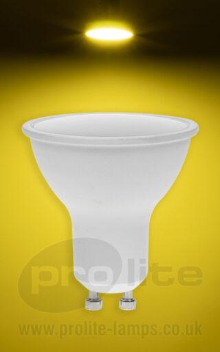 GU10 7W Yellow