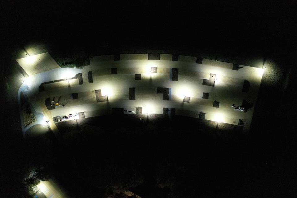 Grimsthorpe Castle Night